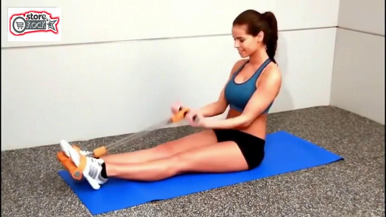 4Tube En Español 2-tube pedal yoga pull rope - youtube