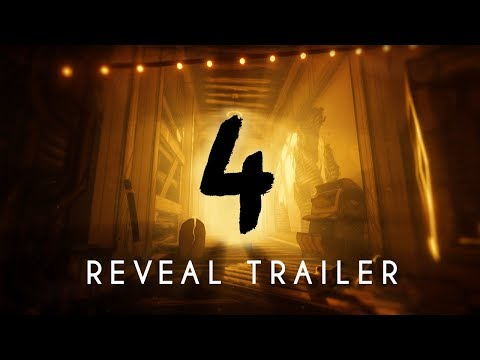 """Bendy and the Ink Machine: Chapter Four"" - Reveal Trailer 2018"