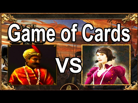 [GG!] Age of Empires 3 Card Game: Pikemania Spain vs India