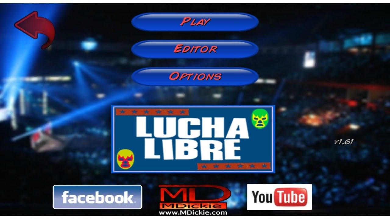 WR2D - Lucha Libre ( New Mod for Wrestling Revolution 2D ) by MDickie Game  Mods