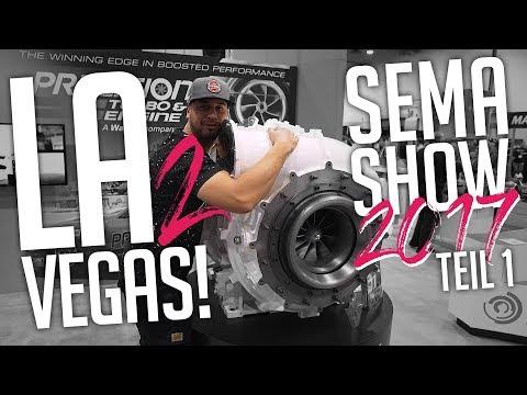 JP Performance - Los Angeles to Vegas!   SEMA SHOW 2017   Teil 1