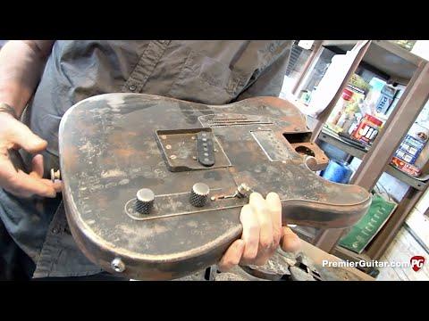 Trussart Custom Guitar Shop Tour
