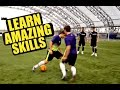 Learn Amazing Football Skills ★ Ft. F2Freestylers