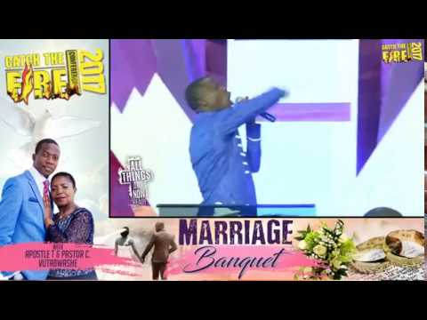 Apostle T Vutabwashe welcomes you to CATCH THE FIRE CONFERENCE Day 1