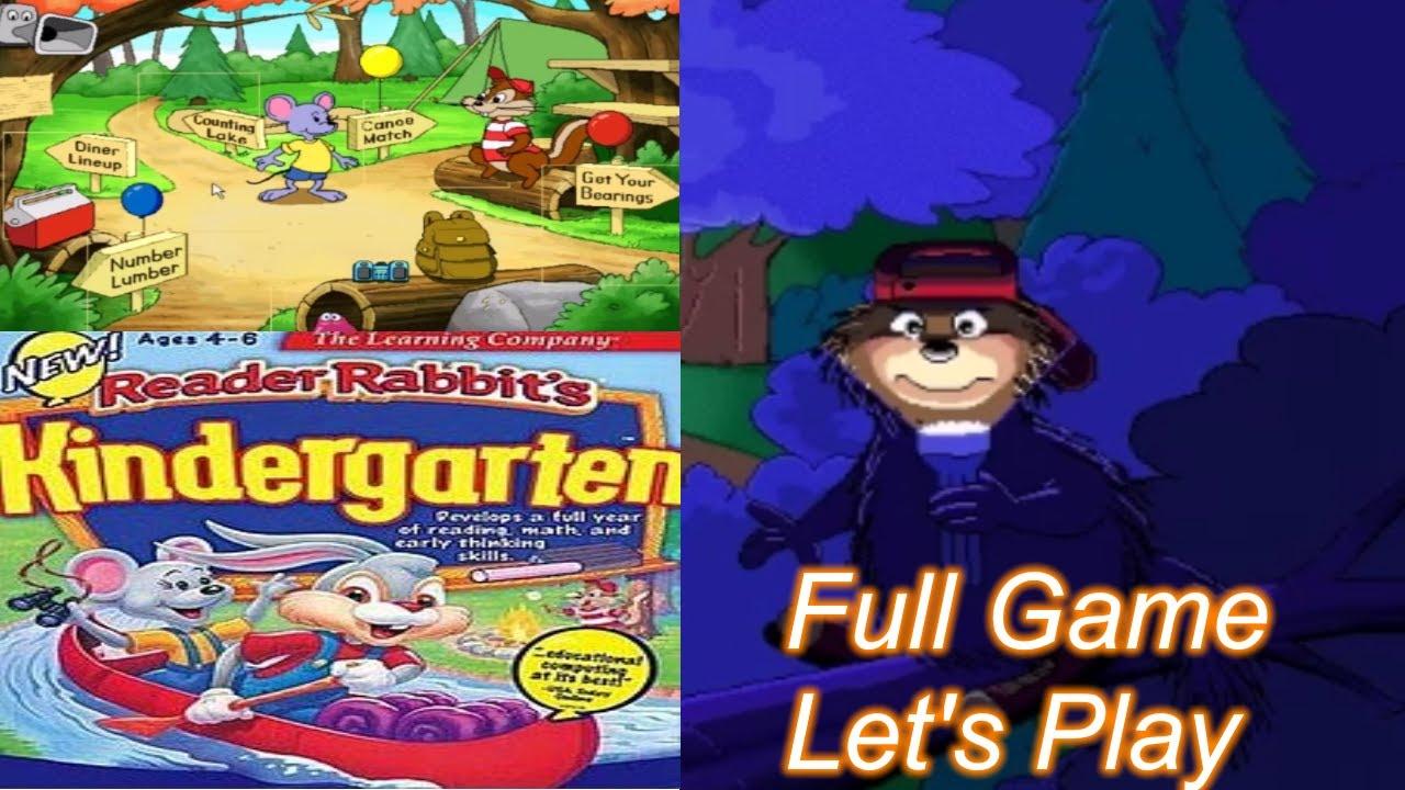 Reader Rabbit Kindergarten 1997 Youtube Reader rabbit grade online free
