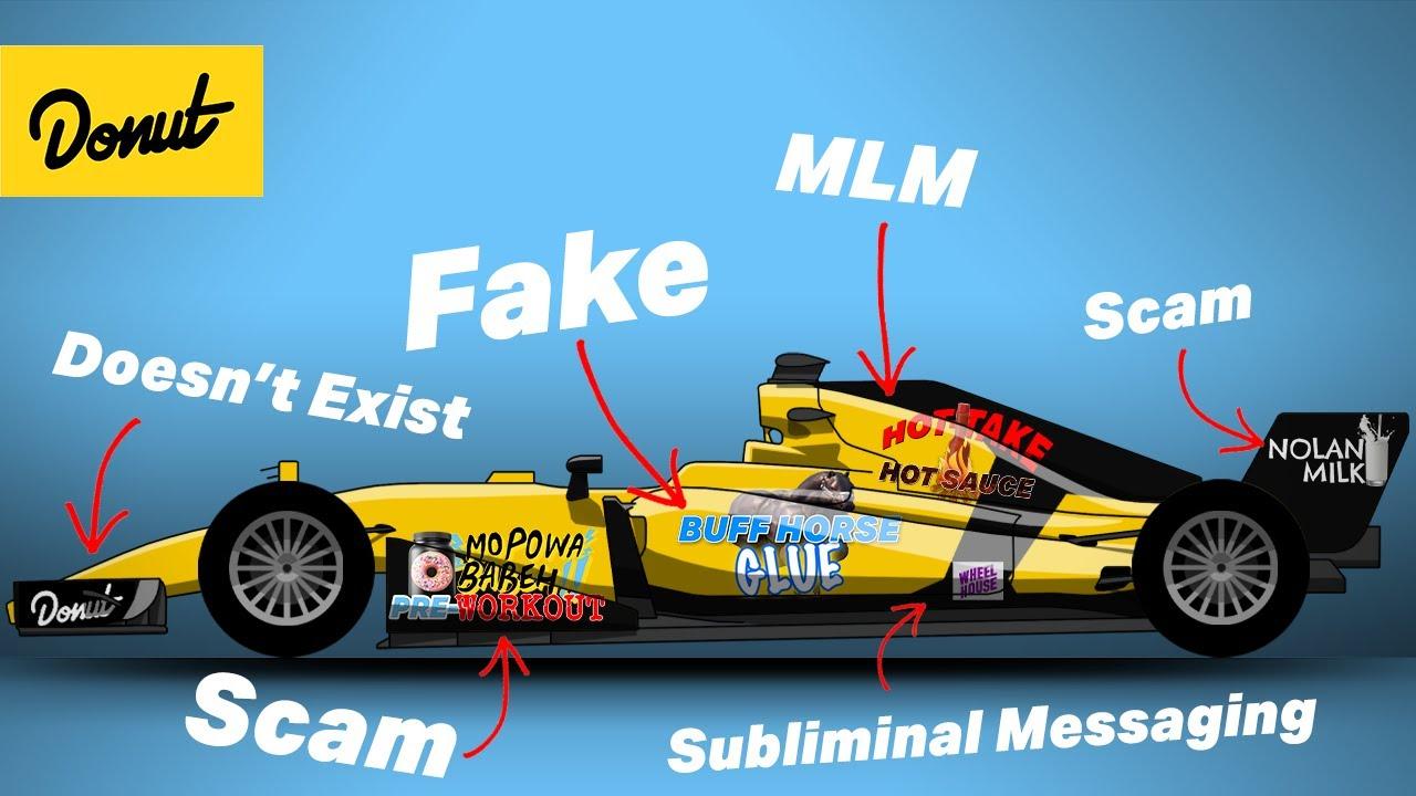 The Dark Underworld Of F1 Sponsorships Youtube