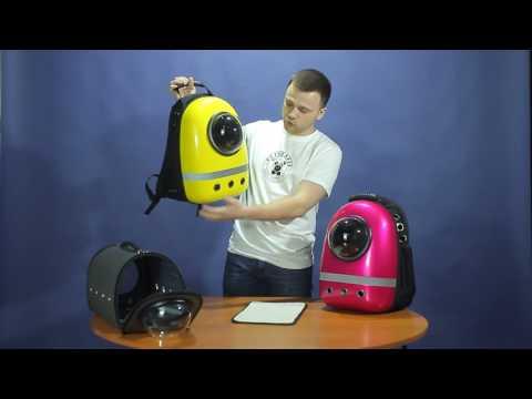 Видеообзор космо рюкзака, купить космический рюкзак для кошек
