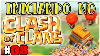 Iniciando no Clash of Clans #08 -  Prioridades do Centro de Vila 5 !