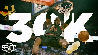 LeBron James will become the youngest player to score 30,000 career points | SportsCenter | ESPN