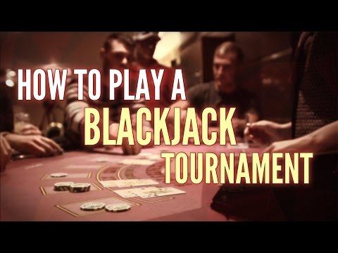 How to play a blackjack tournament like a Pro