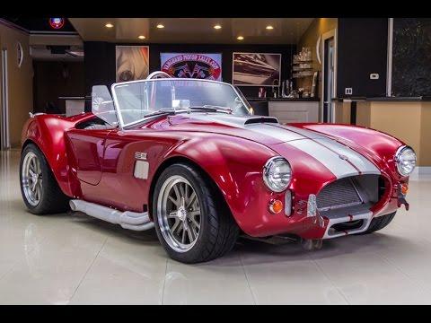 Factory Five Cobra For Sale >> 1965 Backdraft Cobra 427r Youtube