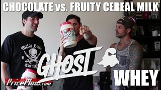 Ghost Whey Review #4! Fruity Cereal & Chocolate Tasting
