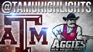 Texas A&M Highlights vs New Mexico State 10-29-2016 ᴴᴰ