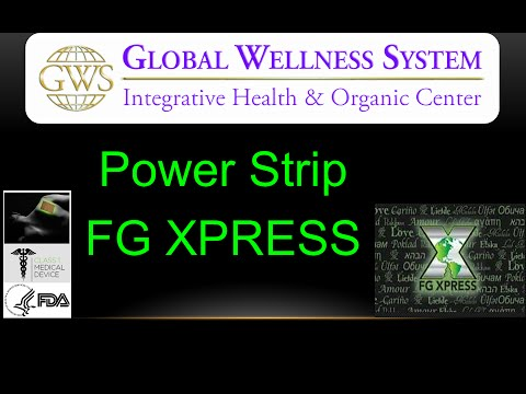 FgXpress Global Wellness System - Power Srip & Prezentare