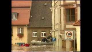 Hochwasser in Grimma 13.08.2002