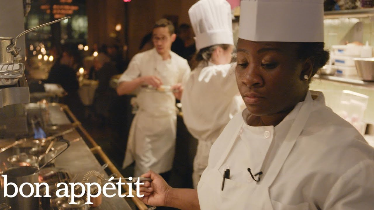 what it s like to be a line cook at a top rated nyc restaurant bon