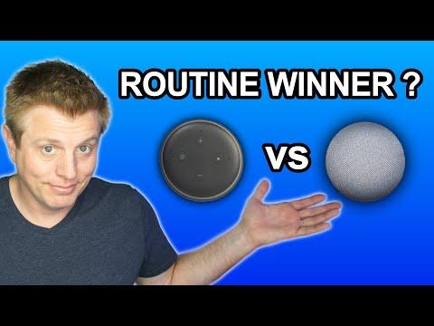Alexa Vs Google Home Routines – The Winner Is…