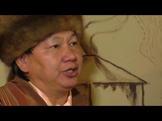 Веб-экспедиция-2: Евгений Улугбашев исполняет отрывок из героического эпоса «Алтын Чус»