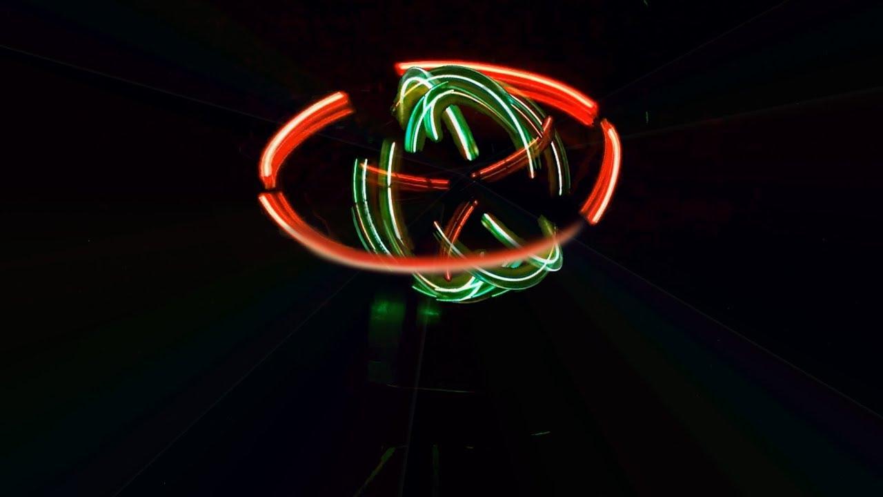 Chế Cầu LED Xoay Hai Trục – Cực Chất  ( Đèn Sân Khấu 😆 )