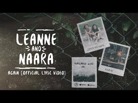 Leanne and Naara - Again (Official Lyric Video)