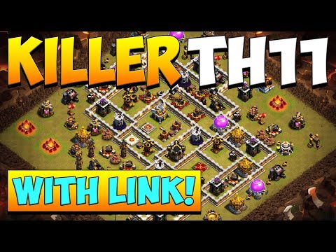 *KILLER* NEW TH11 WAR BASE 2019! *WITH LINK* BEST Town Hall 11 BASE | CLASH OF CLANS | COC