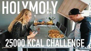 25000 KCAL CHALLENGE | JORELLAFIT EDITION 🍕🎂🍩🍔🍮🍫🍝