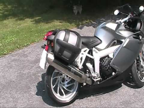 2005 bmw k1200s with bags youtube. Black Bedroom Furniture Sets. Home Design Ideas