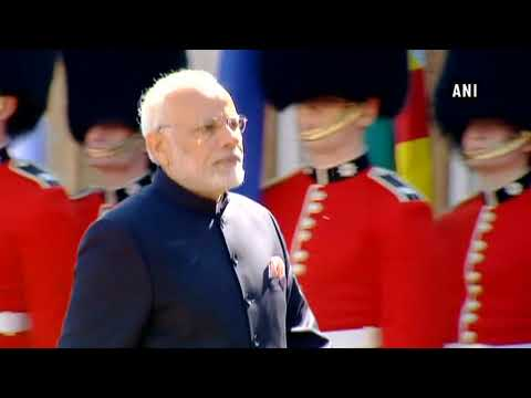 Watch: PM Modi arrives for CHOGM 2018, greeted by PM Theresa