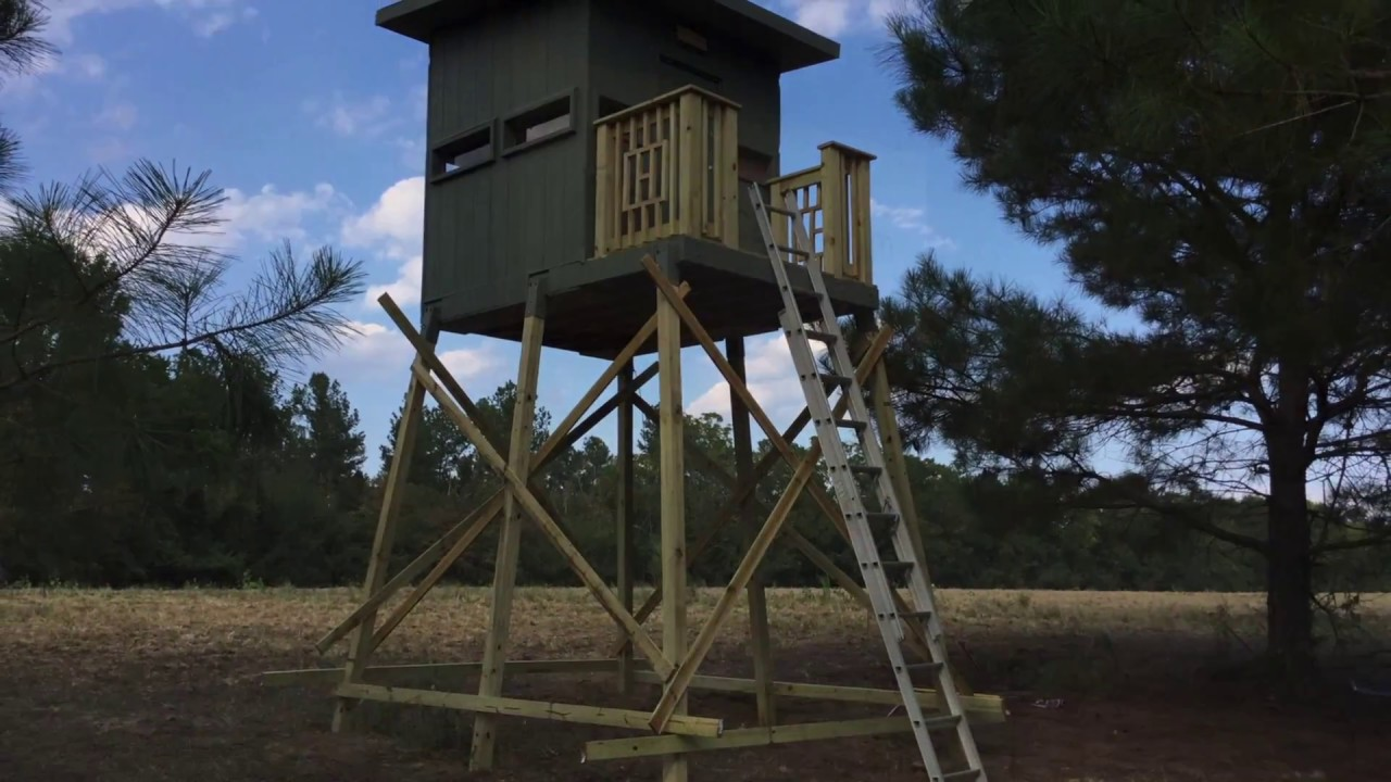 DIY Deer Blind - YouTube