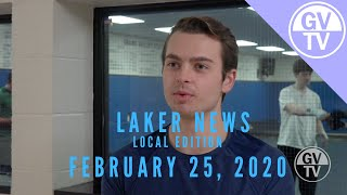 February 25, 2020 | Local Laker News