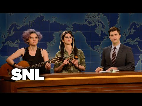 Weekend Update: Garage and Her on the Female Thor - SNL