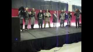 martok and gowron doing klingon battle anthem with ikvs bayou serpent k vette