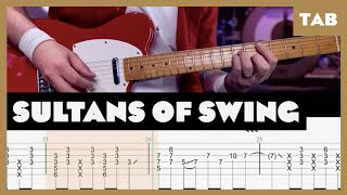Sultans of Swing Dire Straits Cover   Guitar Tab   Lesson   Tutorial