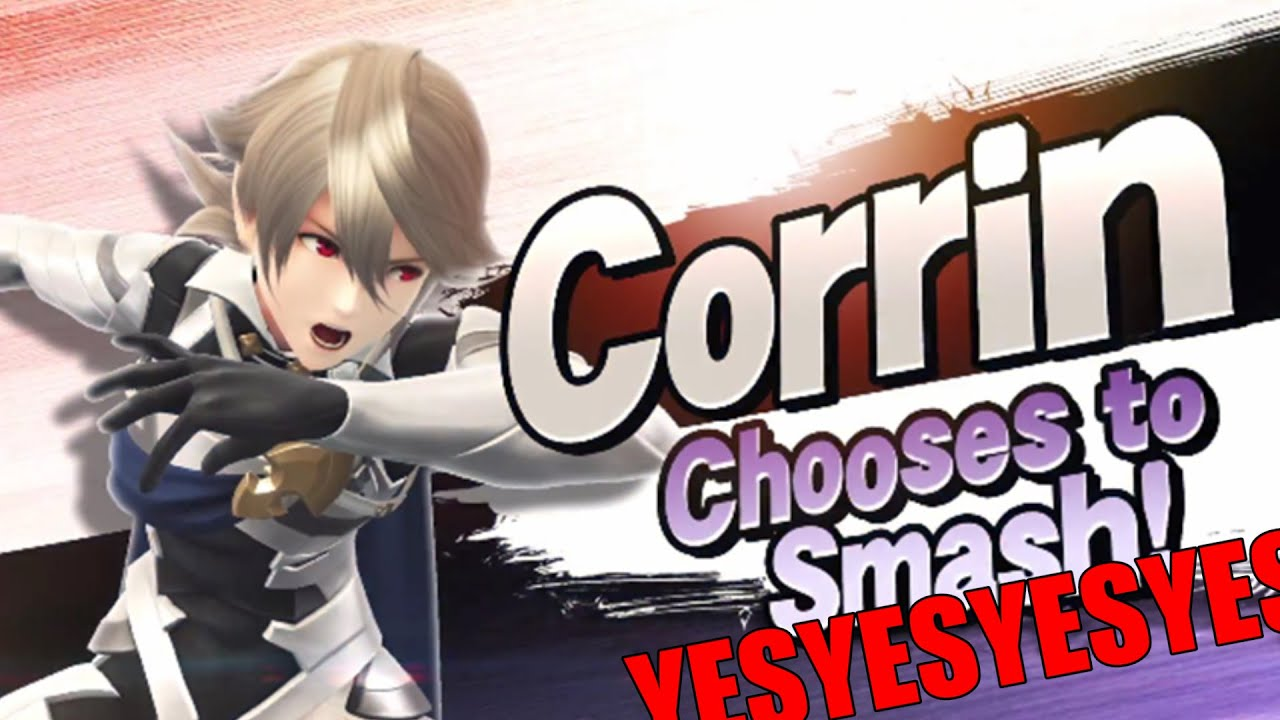 Kamui Corrin From Fire Emblem Fates Confirmed For Smash Youtube