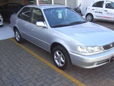 2013 Honda Civic Sedan >> Toyota Corolla XEi 1.8 16v Automático 2002 - YouTube
