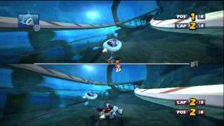 Sonic and SEGA All-Stars Racing with Banjo-Kazooie Gameplay On 01-02-10