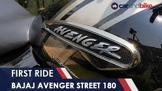 Video 2018 Bajaj Avenger Street 180 First Ride | NDTV carandbike download MP3, 3GP, MP4, WEBM, AVI, FLV Agustus 2018