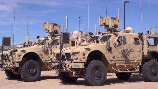 Military Satellite Communications with SATCOM On-The-Move Antennas