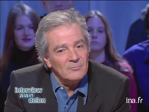 Interview Alain Delon de Pierre Arditi - Archive INA