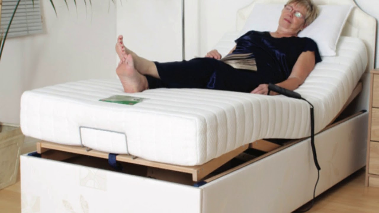 Height Adjustable Beds for The Elderly   YouTube
