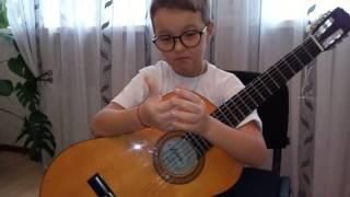 Упражнения для игры на гитаре! Урок 6!