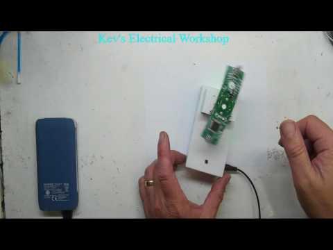 Cross LED Dot Matrix Display Circuit Board Rotating Electronic Kit Part 6