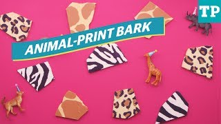 Safari party: How to make animal-print chocolate bark | Eats + Treats