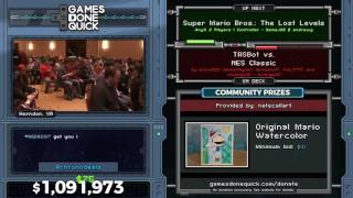 Super Mario Bros: The Lost Levels in 23:52 - Awesome Games Done Quick 2017 - Part 169