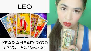 YEAR AHEAD 2020:  LEO (LIVE TAROT READING) by RJ Marmol | TheWokeWay.org