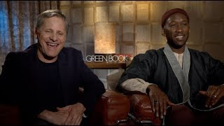 GREEN BOOK interviews - Mahershala Ali, Viggo Mortensen, Peter Farrelly