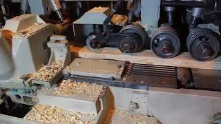 видео Weinig Unimat Super 4 - Четырехсторонний станок деревообрабатывающий, цены, где купить