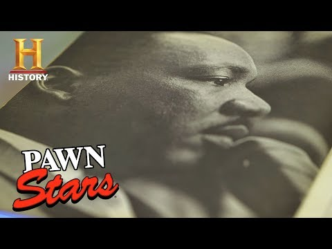Pawn Stars: Anti-War Pamphlet Signed by Martin Luther King, Jr. (Season 15) | History