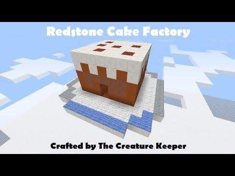 Minecraft How To Make A Cake Baking Machine