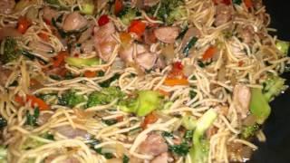 🌟matowix Cooks A Pork Stir-fry🌟